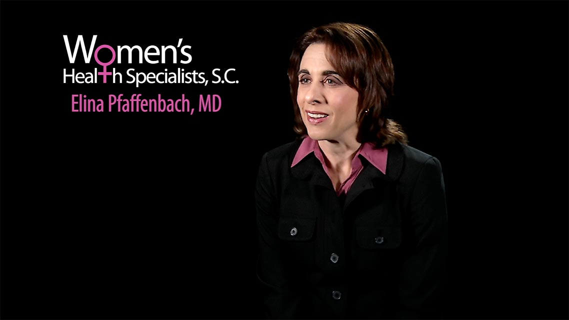 Women's Health Specialists - Elina Pfaffenbach, MD
